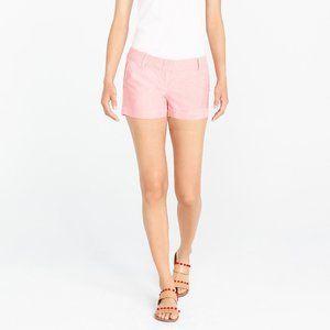 B2G1 J. Crew City Fit Pink Cotton Shorts